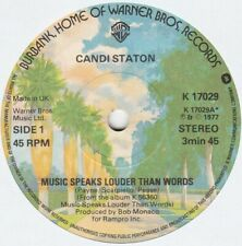 CANDI STATON - Music Speaks Louder Than Words - VERY GOOD CON