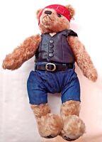 COOPERSTOWN BEARS Harley Davidson BIKER Mohair HD Teddy Bear #106/1000 Limited