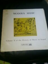 The History Of Music In Sound Hlp 27 Vinyl Record LP
