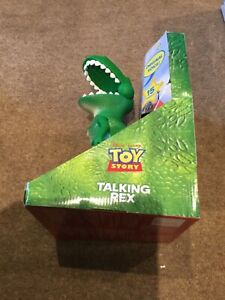 Toy Story Disney Store Talking Rex with original voice 15 phrases VERY RARE