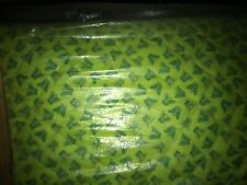 Fabri-Quilt Butterfly & Floral Double Sided PreQuilted Quilt Fabric -1 Yd -