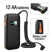 AODELAN External Flash Battery Pack Battery Power Bank for Nikon SB-5000 SB-900