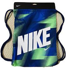 Last One Left New Nike drawstring gym bag blue/green