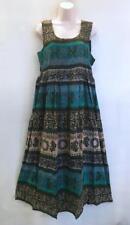 Plus Hippie Bohemian Indian Empire Festival Jaipuri Block Print Maxi Dress F