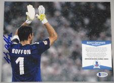 GIANLUIGI BUFFON Hand Signed  8'x10' Photo + PSA / BECKETT COA  World Cup ITALY