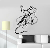 Vinyl Wall Decal Spaceman Astronaut Boy Kids Room Stickers Mural (ig4977)