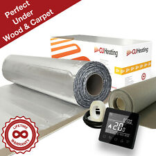 CU Heating Foil Electric Under Wood & Carpet Heating Kit 150w/m² *All Sizes*