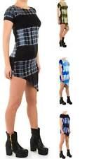Stretchkleider mit Rundhals-Ausschnitt aus Polyester für die Freizeit