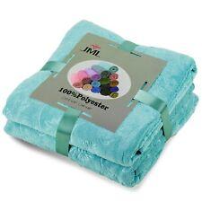"luxury 2 Pack Oversized Bath Towel Sports 30"" x 60"" Teal"