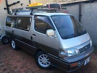 Toyota Hiace  Campervan/ day van, (Supercustom) motorhome, 2 berth + Awning