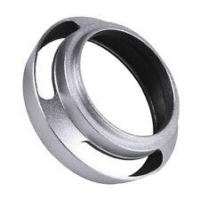 US 49mm Metal Curved Lens Hood Shade for Leica M M-P M-A M-E 49mm Thread Fi
