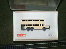 WIKING N SCALE #9373 BERLINER DOUBLE DECKER BUS - MINT IN BOX