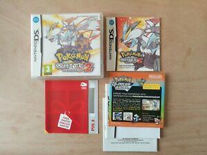 Pokémon: White Version 2 (Nintendo DS, 2012) Complete Fantastic Condition!
