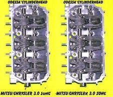 2 MITSU DIAMANTE MONTERO&MONTERO SPORT 3.0 3.5 SOHC #G7S4FR CYLINDER HEADS 97-04