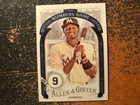 Dee Gordon Marlins 2016 Topps Allen & Ginter The Numbers Game Insert #96