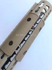"Pack of 3 pieces! FDE 4"" Keymod Rail Panel handguard Cover Flat Dark Earth"
