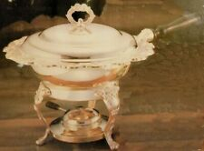 INTERNATIONAL SILVER CO. SILVER PLATED LAUREN DESIGN 2-QT. CHAFING DISH 99110586