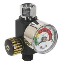 Sealey AR01 On-gun Air Pressure Regulator/Gauge Spray