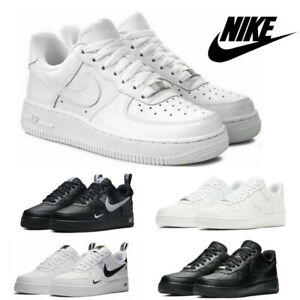 Nlke AIR FORCE 1'07 Womens Mens Sneaker Casual Shoes Sports Shoes Low Size UK