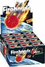Jugend/Kinderfeuerwerk.144 Firebowls Knatterbälle 1 Display (36 Pack a.4 Stück)