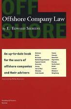 Offshore Company Law by E. Edward Siemens (Hardback, 2009)