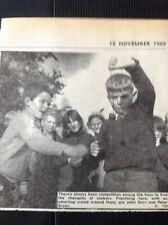 73-3 Ephemera 1969 Picture Thanet School Conkers John Gurr Peter Bryan