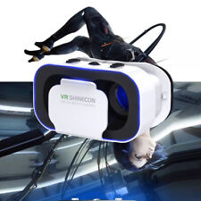 For Android iPhone Samsung Virtual Reality VR Cardboard Headset 3D Glasses Box