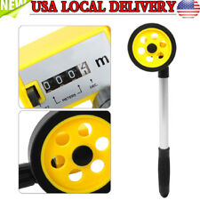 Distance Measuring Wheel Mechanical Measure Rolling Tape Adjustable Handle