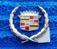 NEW 70s-90s Cadillac Sail Panel Roof Vinyl Top Wreath Crest Ornament Emblem Logo