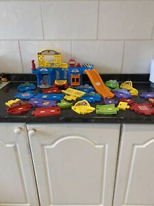 Large Vtech Toot Toot Bundle Repair Centre And Loads Of Track