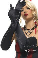 Damen-Handschuhe & -Fäustlinge aus Nylon mit Lang/Opera