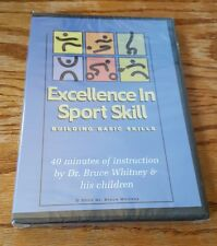 Excellence In Sport Skill: Building Basic Skills (DVD) Dr. Bruce Whitney NEW