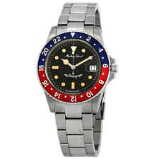 Mathey-Tissot Rolly Vintage Automatic Blue and Red Pepsi Bezel Men's Watch