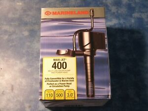 NEW MARINELAND MAXI-JET 400 MULTIL-USE WATER PUMP AND CIRCULATION PUMP NIB