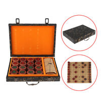 Elloapic Beechwood Xiangqi Chinese Chess Set With Wooden Box,Large Size,4CM Toys