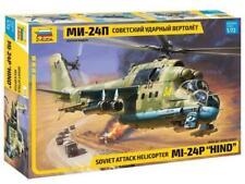 Mi24p Ruso Soviético Zvezda 1/72 escala Hind ataque helicóptero