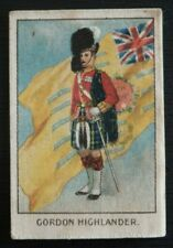 GORDON HIGHLANDER SILK Soldiers of the King issued by MY WEEKLY in 1914