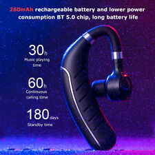 Wireless BT5.0 Sweatproof Sport Gym Headset Stereo Headphone Earphone W/Mic X5I6