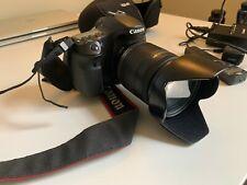 Canon EOS 60D 18.0MP Digital SLR Camera - Black (Kit w/ EF-S IS 18-200mm Lens)