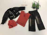 "MINT Kidz n Cats 18"" Sonja Hartmann MIKE Boy Outfit w/Hanger & GREEN Shoes RARE"