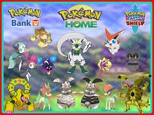 ALL 14✨SHINY- Looked✨LEGENDARIES 6IV Pokemon Home/ 6 Sword Shield