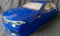RC 1/10 EP Car 190mm Painted Body shell fits M5 style Blue