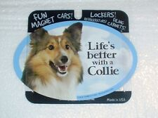 Collie LIFES BETTER Fridge Magnet