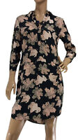 🌻 SPORTSCRAFT WOMENS SIZE 8 SHIRT STYLE FLORAL DRESS AS NEW