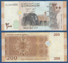 Syrie/syria 200 pounds 2009 unc p.114