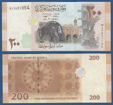 SYRIEN / SYRIA 200 Pounds 2009  UNC  P.114