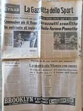 LA GAZZETTA DELLO SPORT Lunedì 27/09 1976 🎾 FINALE COPPA DAVIS 🥎 BARAZZUTTI