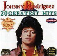 Johnny Rodriguez - 20 Greatest Hits [New CD]