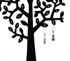925 Sterling silver ear wire hook violin drop earrings inc free white lace pouch