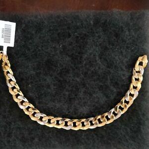 18 k solid gold bracelet mens, .4oz (about 12grams)